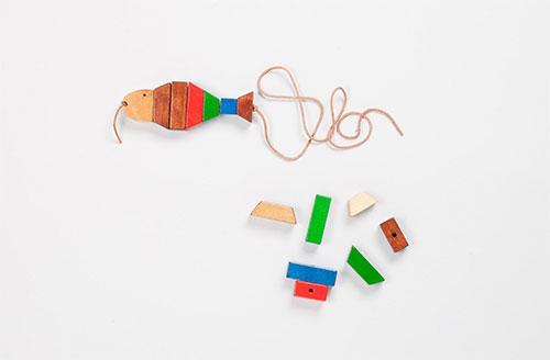 3-Fädelfische-Fredun-Shapur-1980-Selecta-jouet-vintage-enfant-rocket-lulu