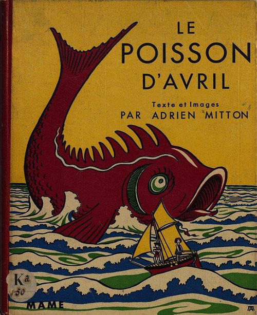 Poisson-avril-illustration-livre-vintage-1936-rocket_lulu