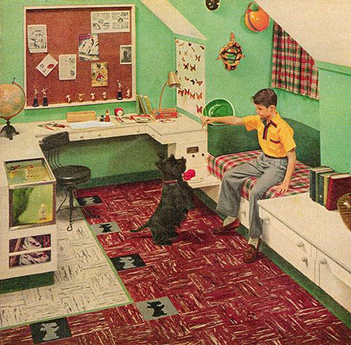 Chambre-enfant-retro-vintage-kids-room-midmod-design-1953-rocket-lulu
