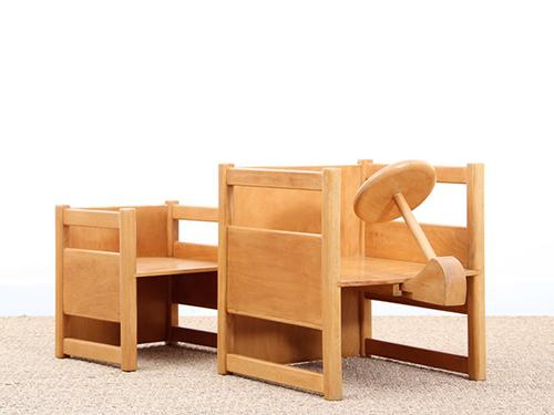 Table-chaise-kay-bojesen-1937-design-enfant-scandinave-rocket-lulu1
