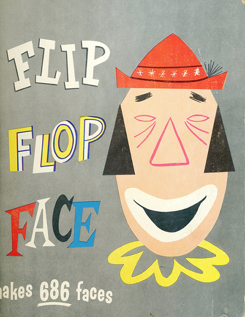 Flip-flop-face-paper-game-1957-rocket-lulu1