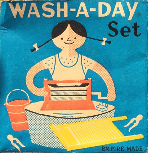 Wash-a-day-packaging-mid-century-vintage-enfant-graphic-design-rocket-lulu