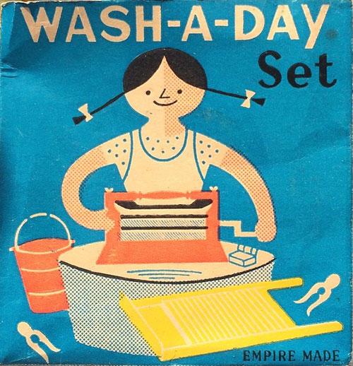 Wash-a-day-packaging-mid-century-vintage-enfant-graphic-design-rocket-lulu