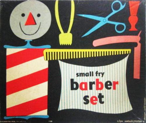 Jouet-vintage-enfant-1950's-barber-set-rocket-lulu