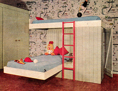 Chambre-enfant-lit-retro-vintage-kids-room-midmod-design-1955-rocket-lulu