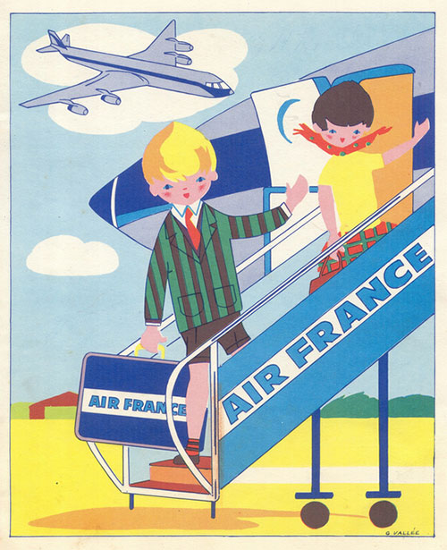 Ancien-coloriage-air_france-vintage-60s-1